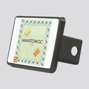 Manitowoc County monopoly Rectangular Hitch Cover