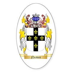 Neaves Sticker (Oval 10 pk)