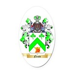 Neate Oval Car Magnet
