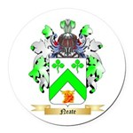 Neate Round Car Magnet