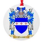 Neason Round Ornament