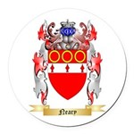 Neary Round Car Magnet
