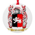 Neale English Round Ornament