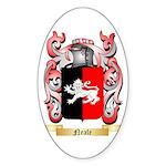 Neale English Sticker (Oval)