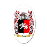 Neale English 20x12 Oval Wall Decal