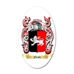 Neale English 35x21 Oval Wall Decal
