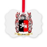 Neale English Picture Ornament
