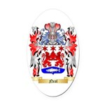 Neal Oval Car Magnet