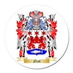 Neal Round Car Magnet
