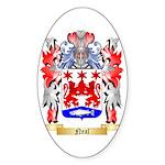 Neal Sticker (Oval 10 pk)