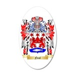 Neal 35x21 Oval Wall Decal