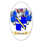 Nazzaro Sticker (Oval 10 pk)