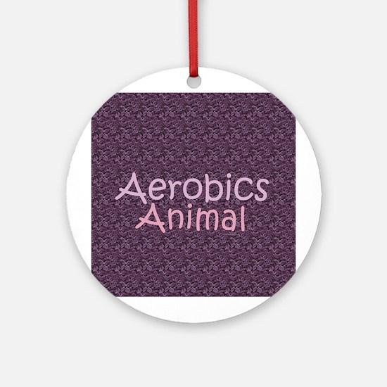 TOP Aerobics Animal Ornament (Round)