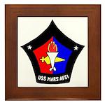 USS Mars (AFS 1) Framed Tile