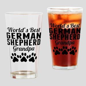World's Best German Shepherd Grandpa Drinking Glas
