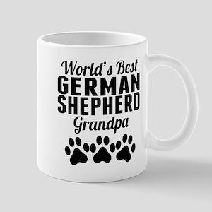 World's Best German Shepherd Grandpa Mugs