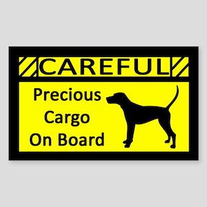 Precious Cargo Treeing Walker Coonhound Sticker