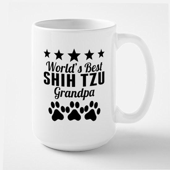 World's Best Shih Tzu Grandpa Mugs