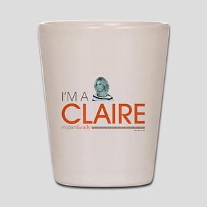 Modern Family I'm a Claire Shot Glass