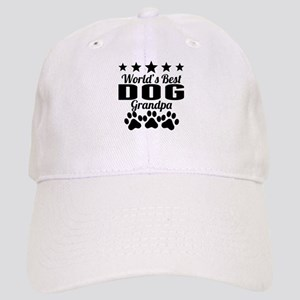 World's Best Dog Grandpa Baseball Cap