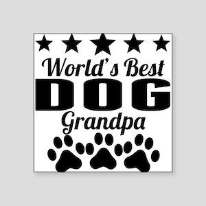 World's Best Dog Grandpa Sticker