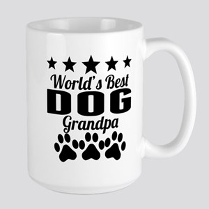 World's Best Dog Grandpa Mugs
