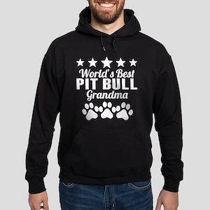 World's Best Pit Bull Grandma Hoodie