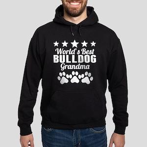World's Best Bulldog Grandma Hoodie