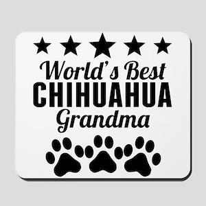 World's Best Chihuahua Grandma Mousepad