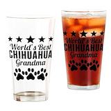 Chihuahuas Drinking Glass
