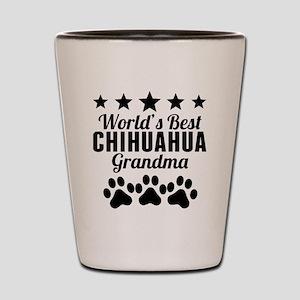 World's Best Chihuahua Grandma Shot Glass
