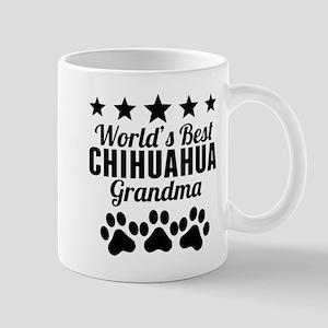 World's Best Chihuahua Grandma Mugs