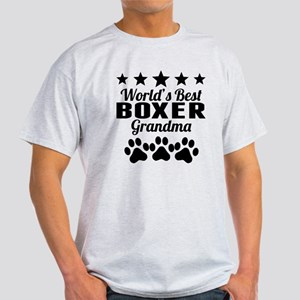 World's Best Boxer Grandma T-Shirt