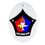 USS Mars (AFS 1) Oval Ornament
