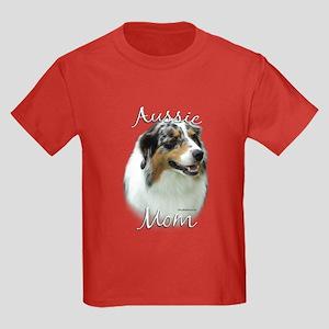Aussie Mom2 Kids Dark T-Shirt