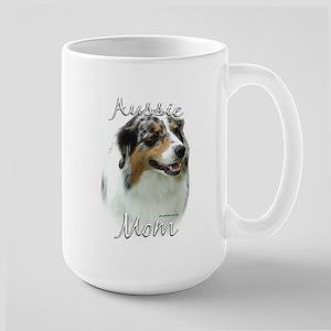 Aussie Mom2 Large Mug