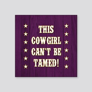 THIS COWGIRL... Sticker
