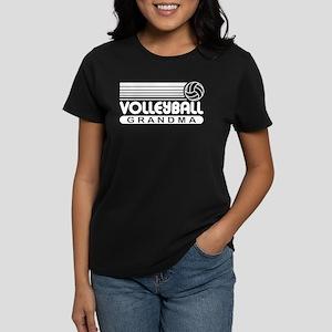 Volleyball Grandma Women's Dark T-Shirt