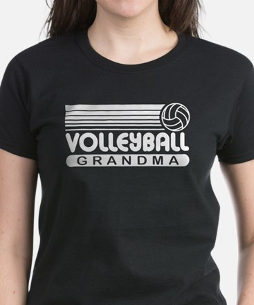 Volleyball Grandma Women's Dark T-Shirt