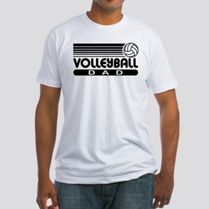 Volleyball Dad Fitted T-Shirt