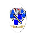 Nazaire Oval Car Magnet