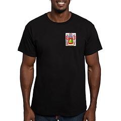 Nayldor Men's Fitted T-Shirt (dark)
