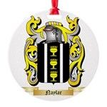 Naylar Round Ornament