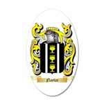 Naylar 35x21 Oval Wall Decal
