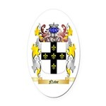 Nave Oval Car Magnet