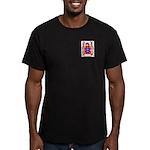Navas Men's Fitted T-Shirt (dark)