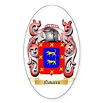 Navarro Sticker (Oval 50 pk)