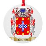 Navarrete Round Ornament
