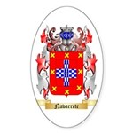Navarrete Sticker (Oval)