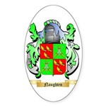 Naughten Sticker (Oval 50 pk)